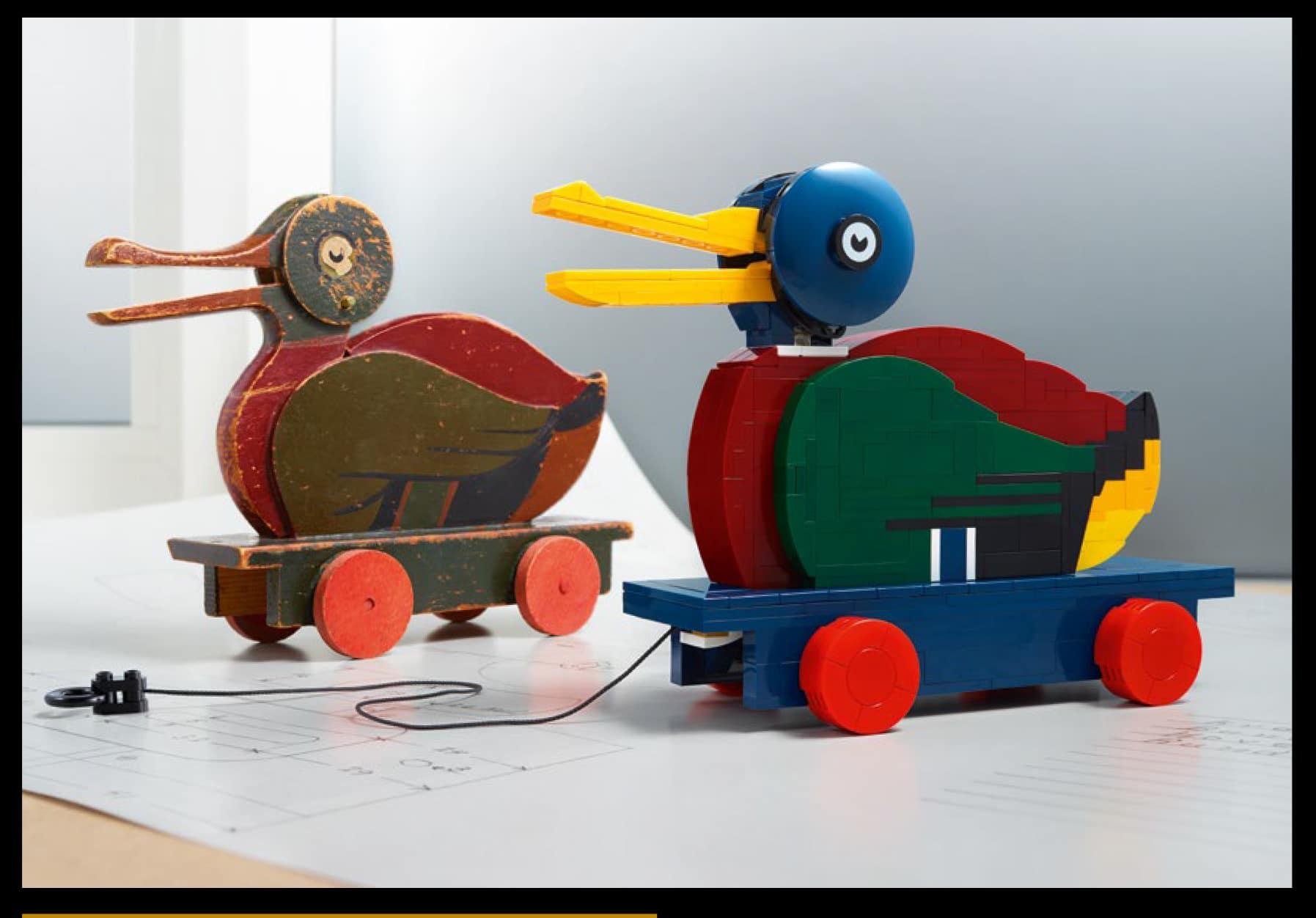 LEGO 40501 Wooden Duck Vergleich