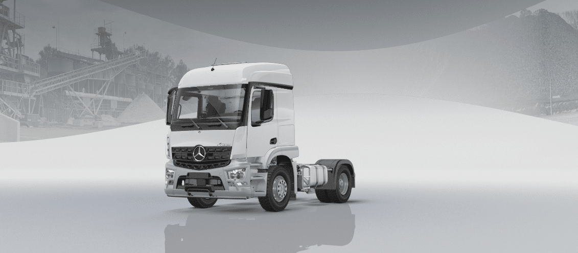 Mercedes-Benz Arocs im Original