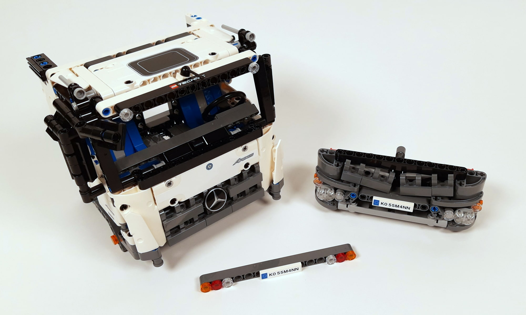 LEGO 42023 Mercedes-Benz Arocs B-Modell - Unzerlegtes Fahrerhaus