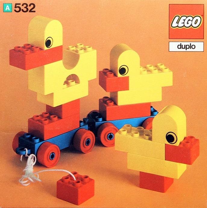 LEGO 532 Pull Along Ducks