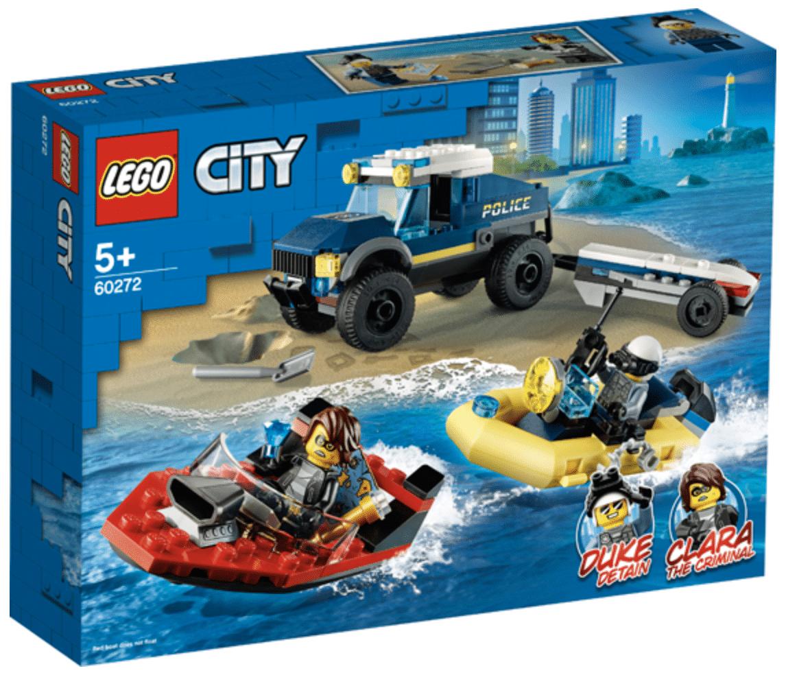 LEGO 60272 Elite Police Boat Transport 1