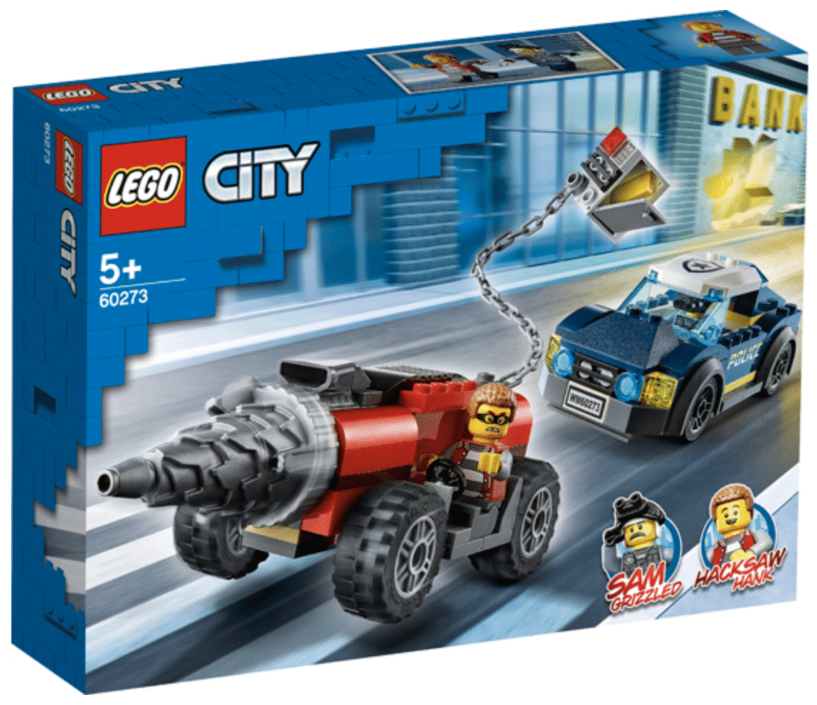 LEGO 60273 Elite Police Driller Chase 1
