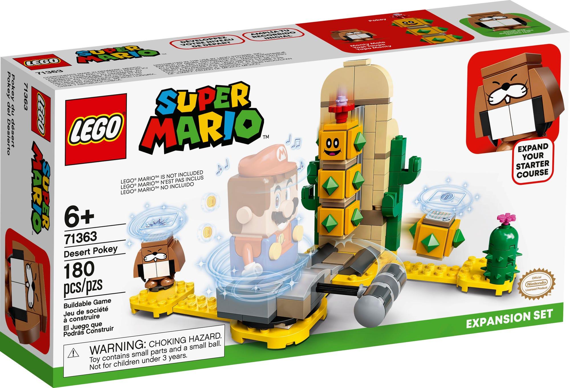 LEGO 71363 LEGO Super Mario W Sten Pokey Erweiterungsset 2