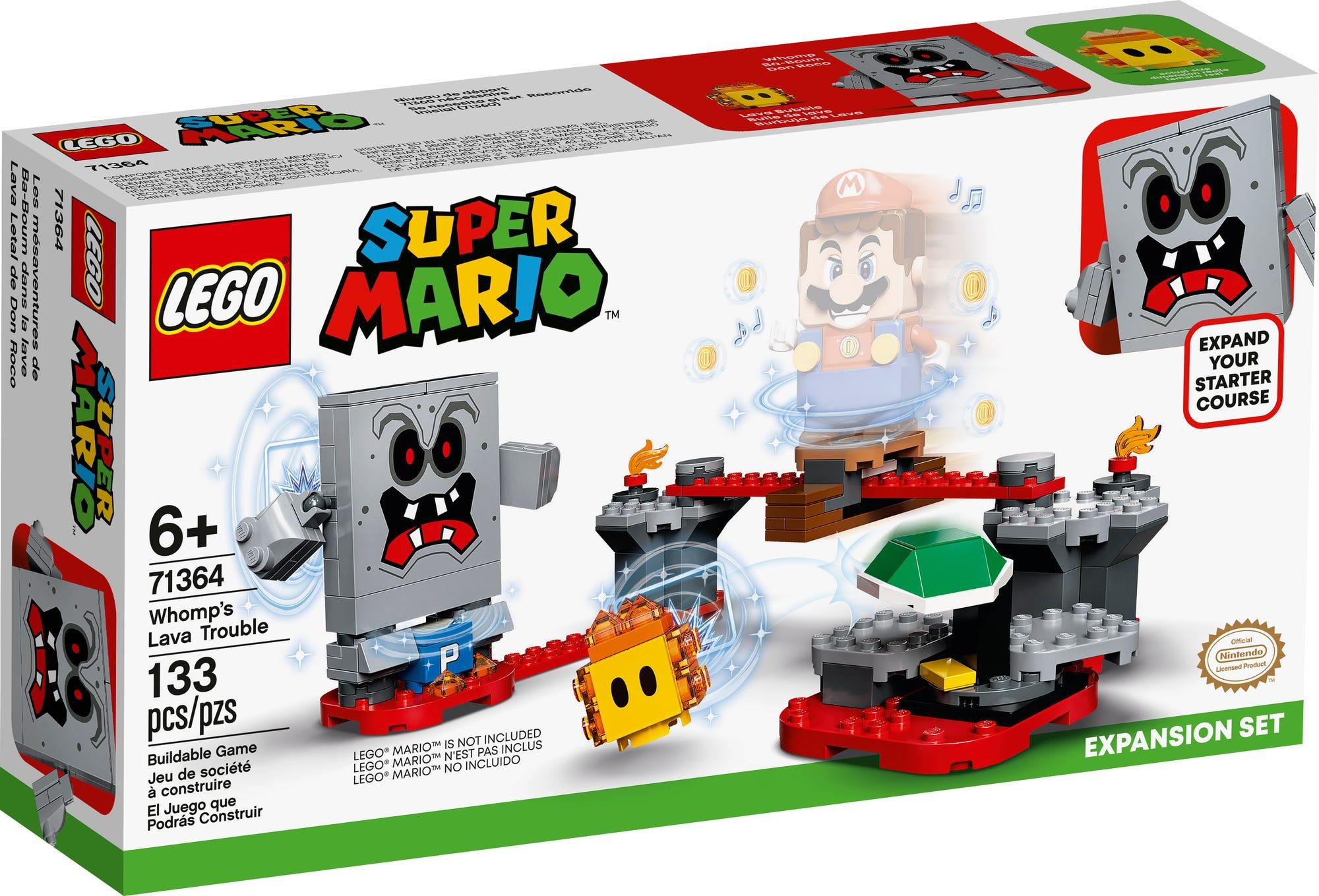 LEGO 71364 LEGO Super Mario Wummps Lava Rger Erweiterungsset 2