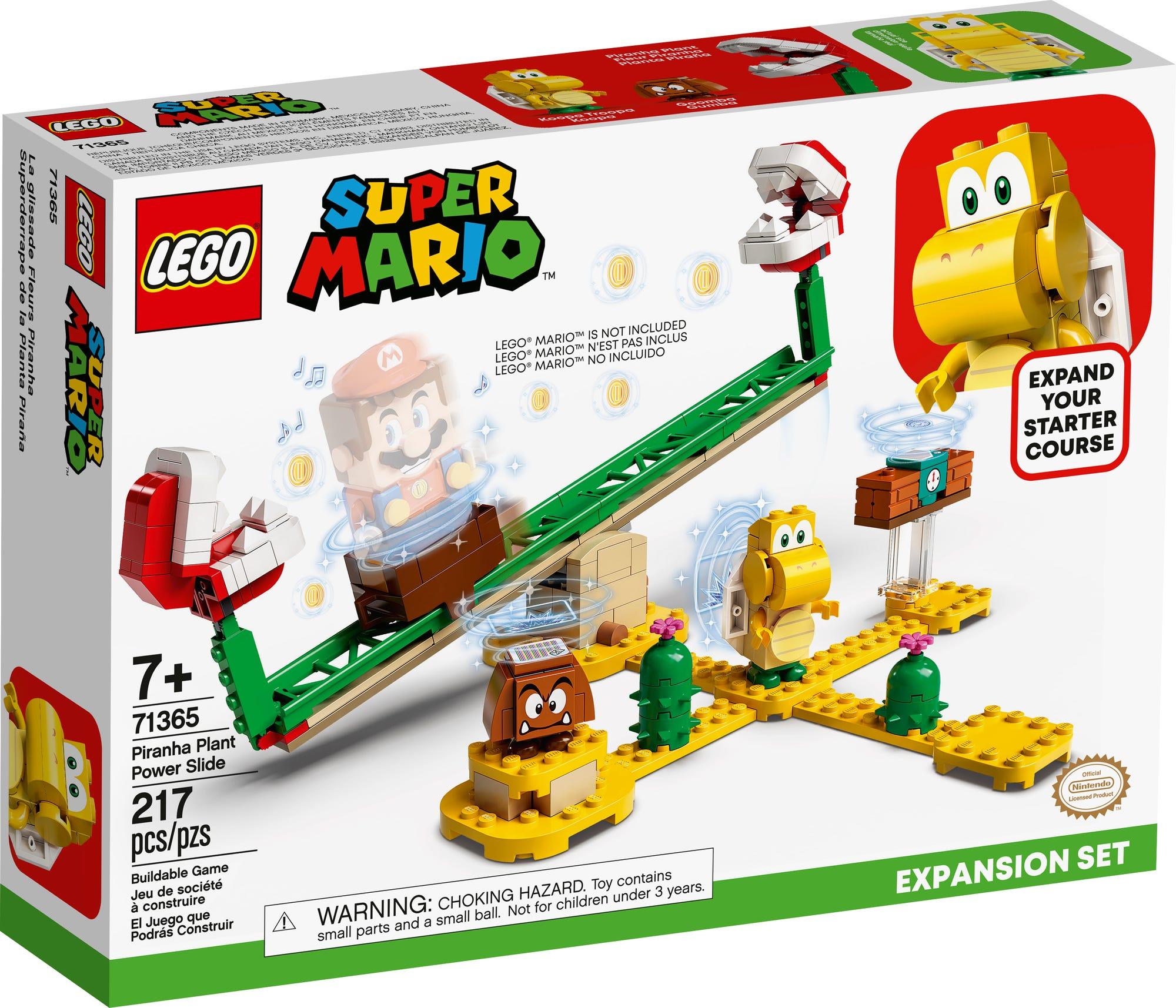 LEGO 71365 LEGO Super Mario Piranha Pflanze Powerwippe Erweiterungsset 2