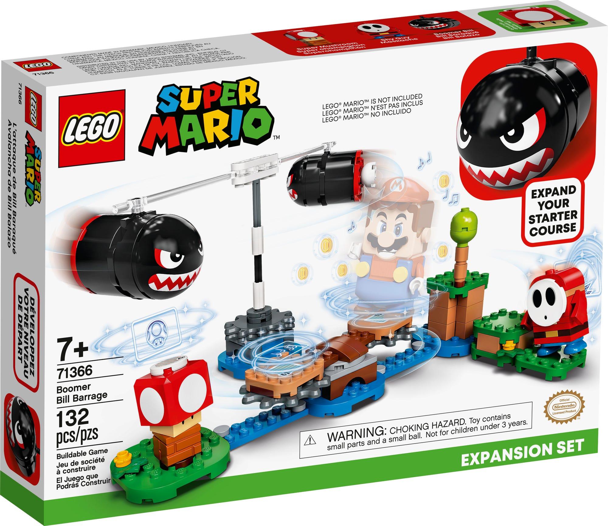 LEGO 71366 LEGO Super Mario Riesen Kugelwillis Erweiterungsset 2