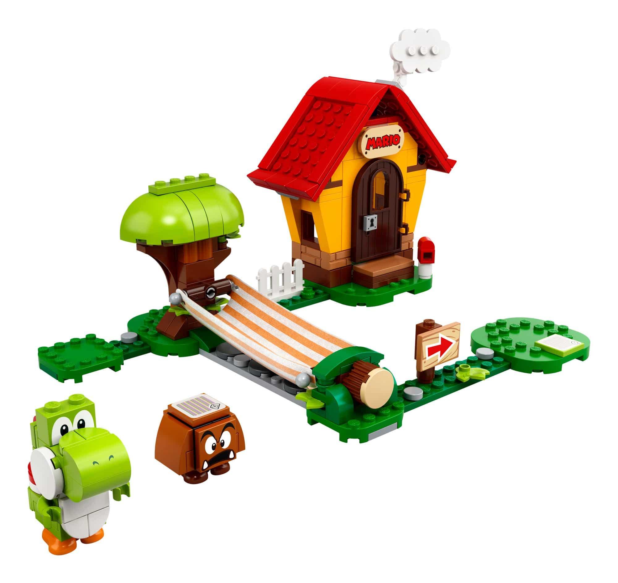LEGO 71367 LEGO Super Mario Marios Haus Und Yoshi Erweiterungsset 1