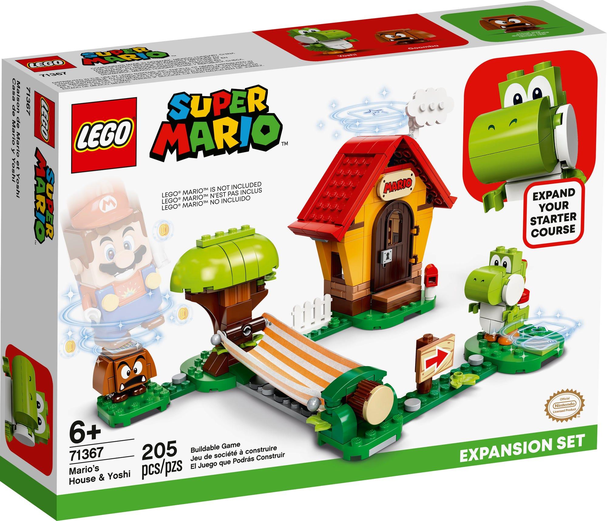 LEGO 71367 LEGO Super Mario Marios Haus Und Yoshi Erweiterungsset 2