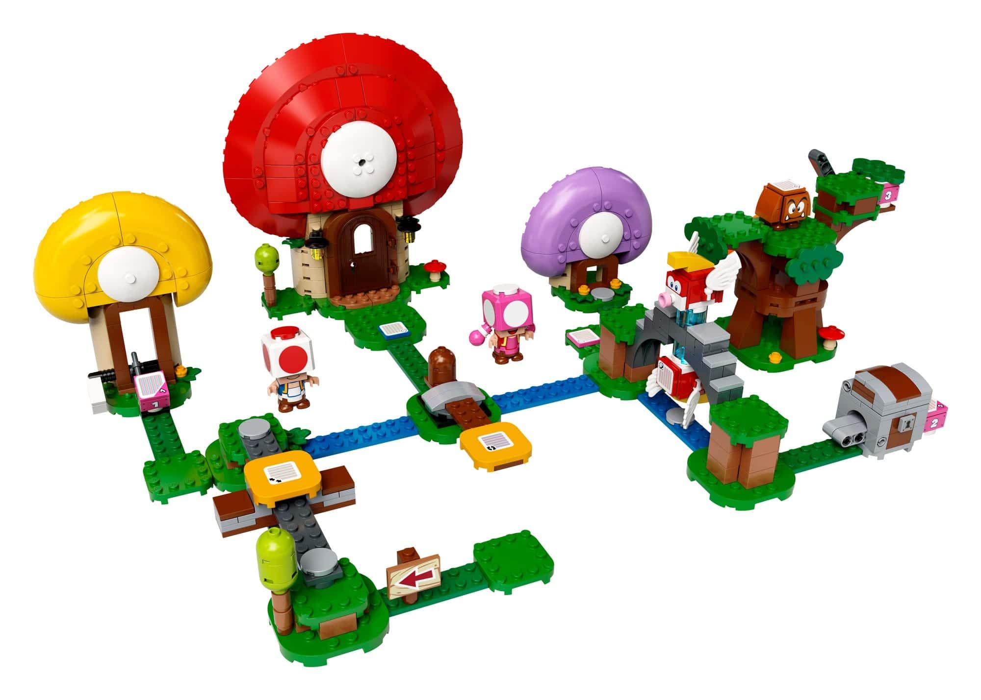 LEGO 71368 LEGO Super Mario Toads Schatzsuche Erweiterungsset 1