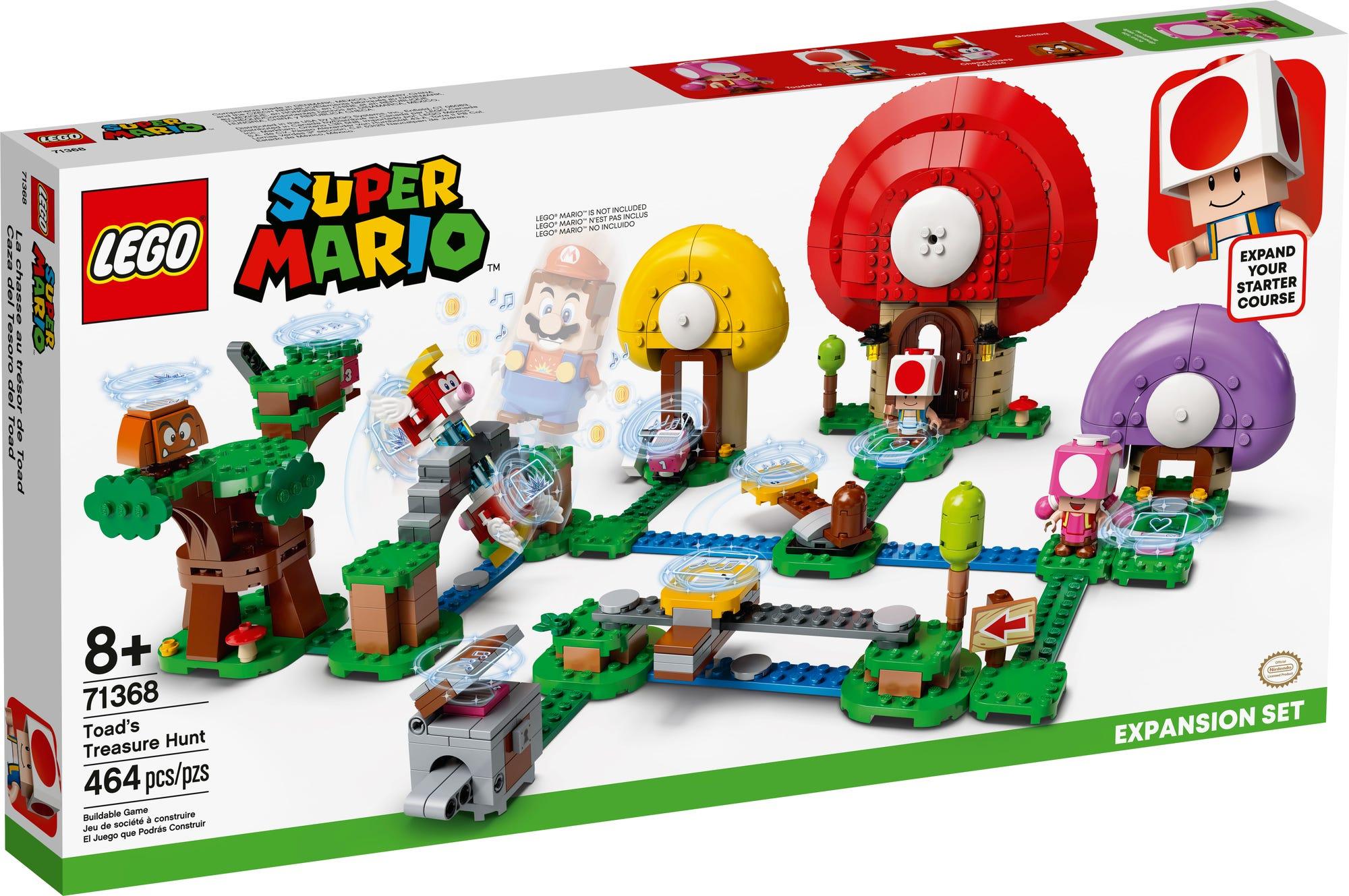 LEGO 71368 LEGO Super Mario Toads Schatzsuche Erweiterungsset 2