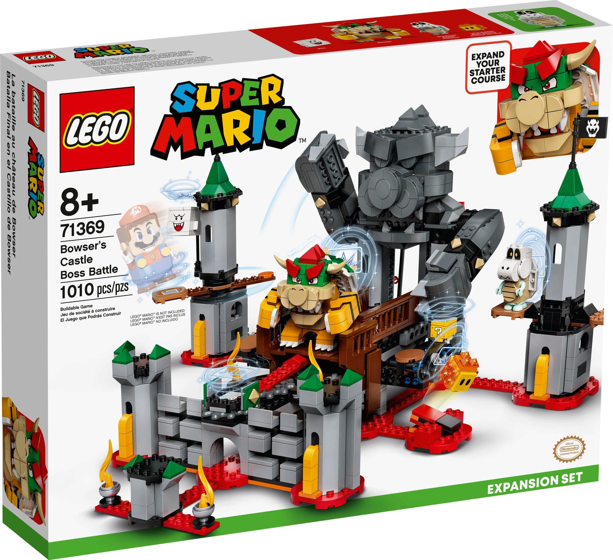 LEGO 71369 LEGO Super Mario Bowsers Festung Erweiterungsset 2