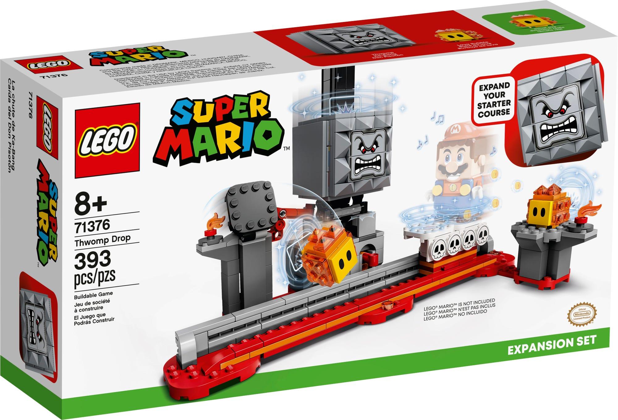 LEGO 71376 LEGO Super Mario Fallender Steinblock Erweiterungsset 2