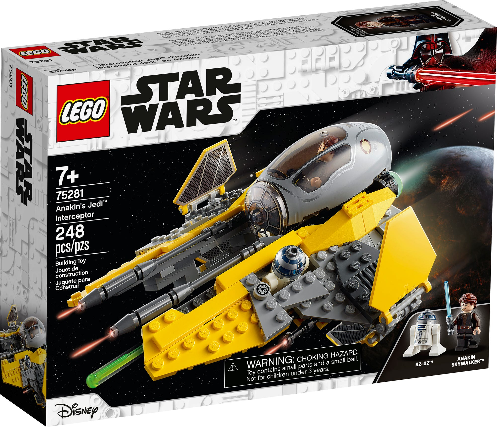 LEGO 75281 Star Wars Anakins Jedi Interceptor 2