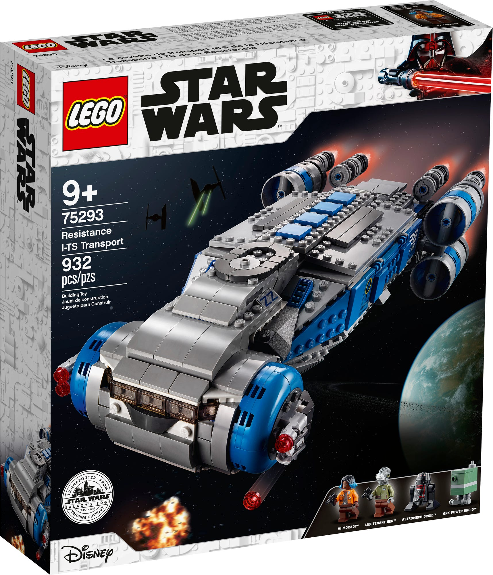 LEGO 75293 Star Wars I-TS Transportschiff der Rebellen