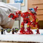 LEGO 76164 LEGO Marvel Iron Man Hulkbuster Versus A I M Agent 11