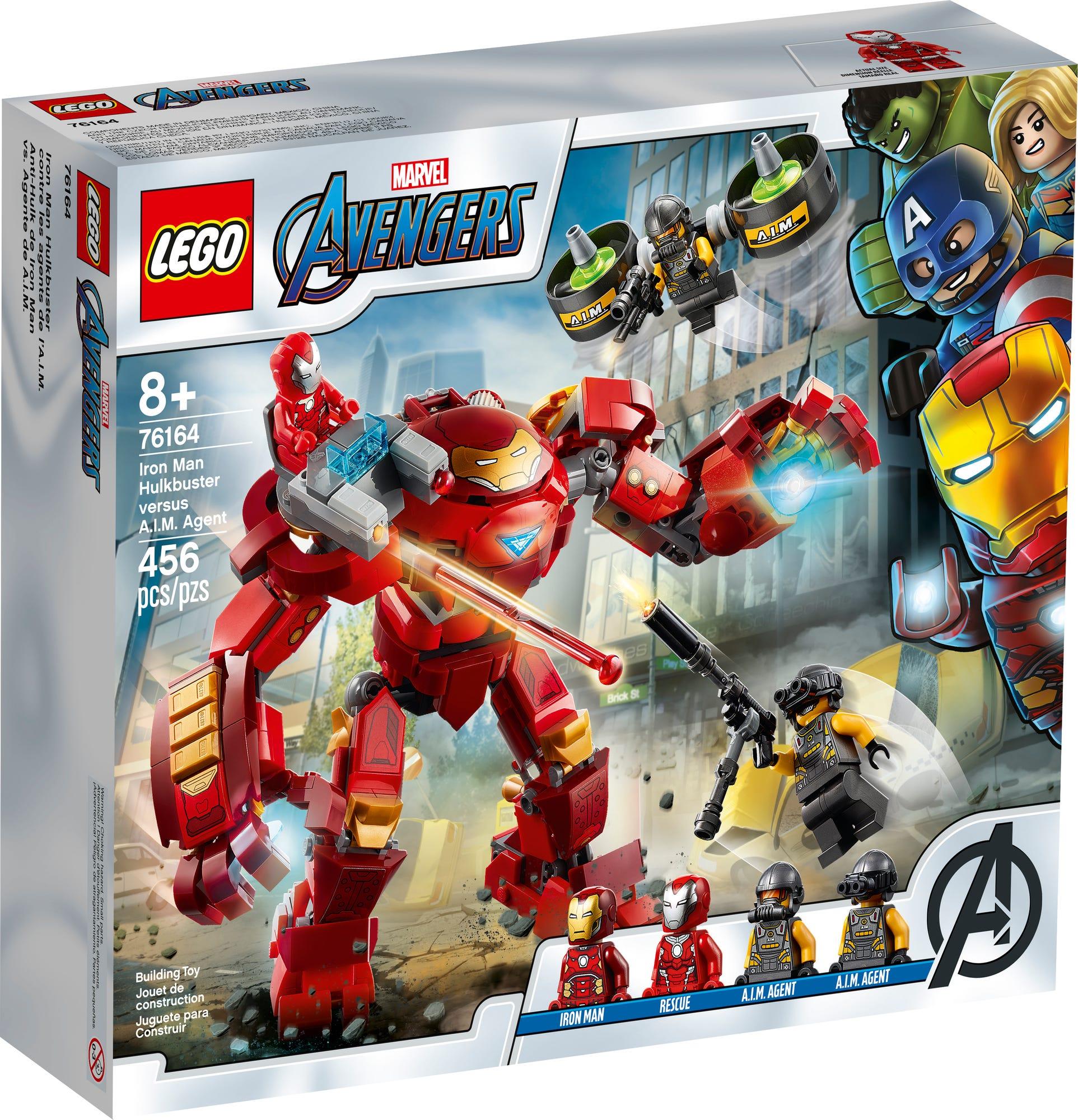 LEGO 76164 LEGO Marvel Iron Man Hulkbuster Versus A I M Agent 2
