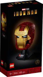 LEGO 76165 LEGO Marvel Iron Man Helmet (Box Vorderseite)