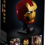 LEGO 76165 LEGO Marvel Iron Man Helmet (Box Rückseite)