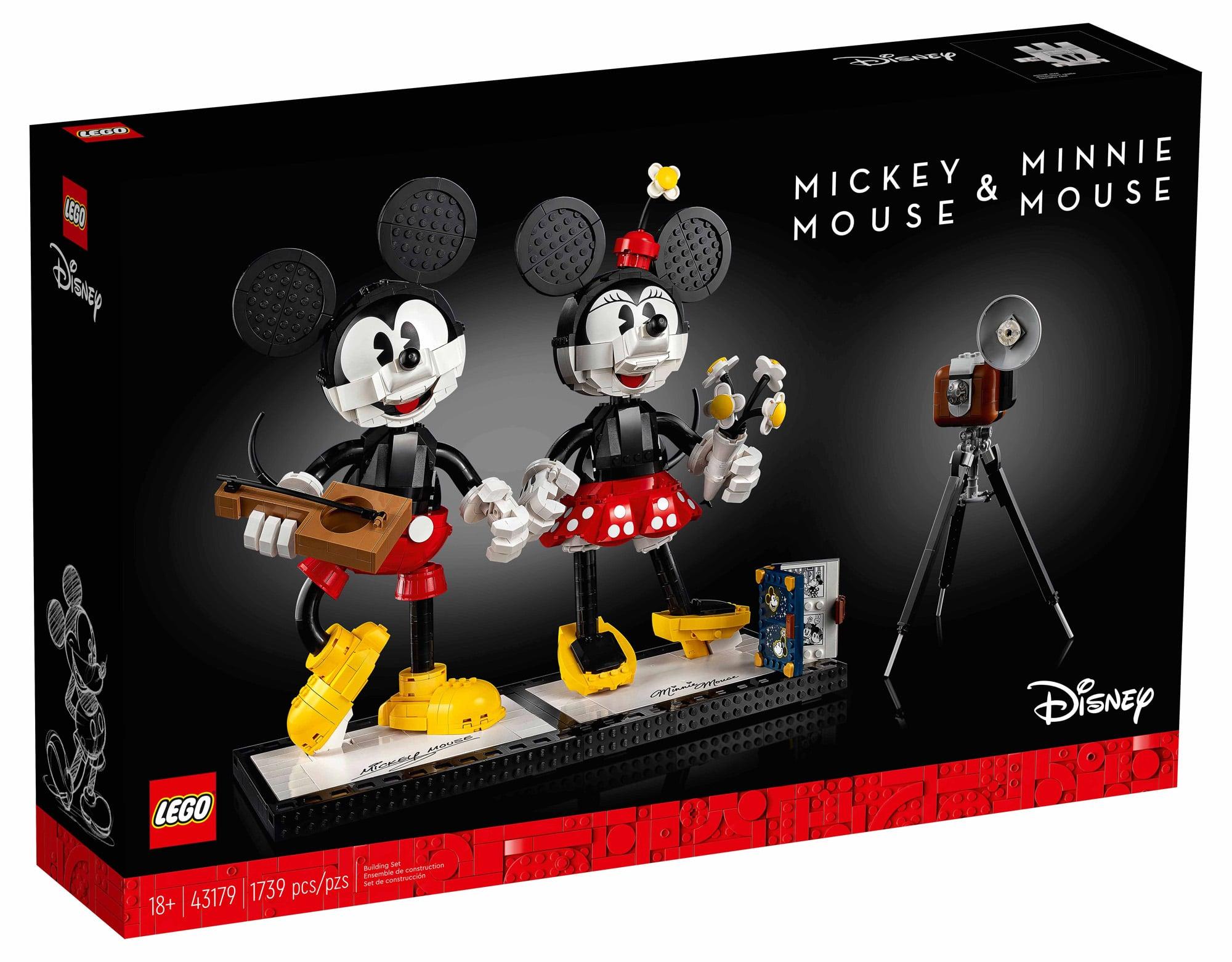 LEGO Disney 43179 Mickey Minnie (Box Vorderseite)