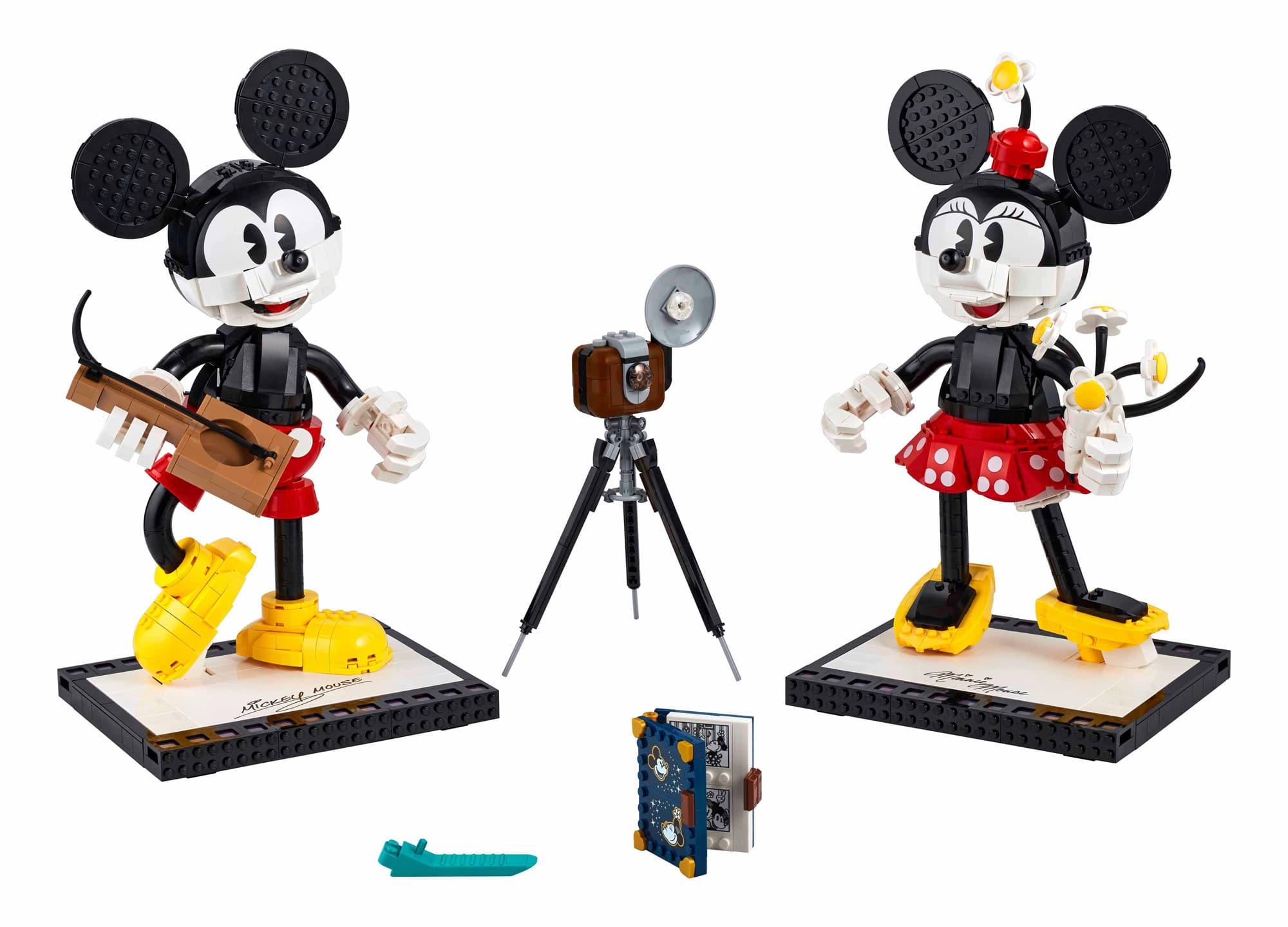 LEGO Disney 43179 Mickey Minnie (Inhalt des Sets)