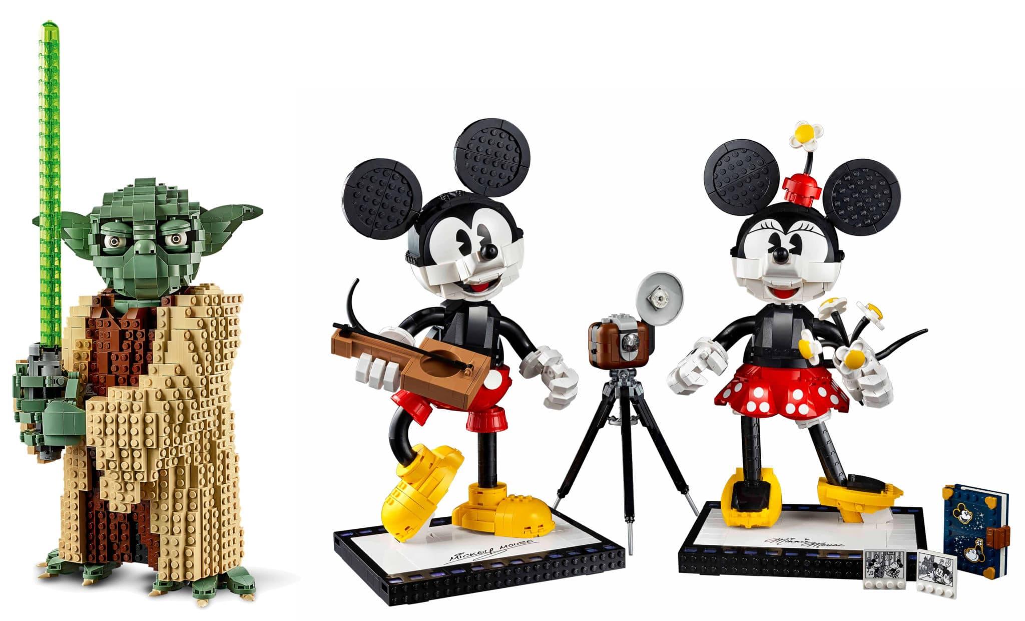 LEGO Disney 43179 Mickey Minnie Größenvergleich