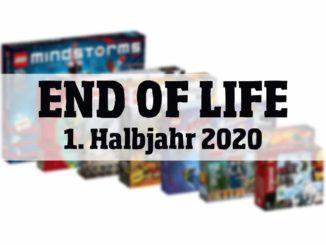 LEGO End Of Life 1. Halbjahr 2020