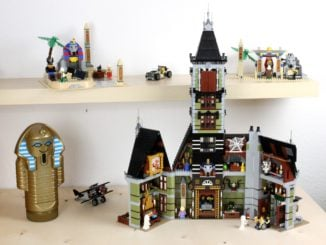 LEGO Fairground Collection 10273 Haunted House Titelbild 1