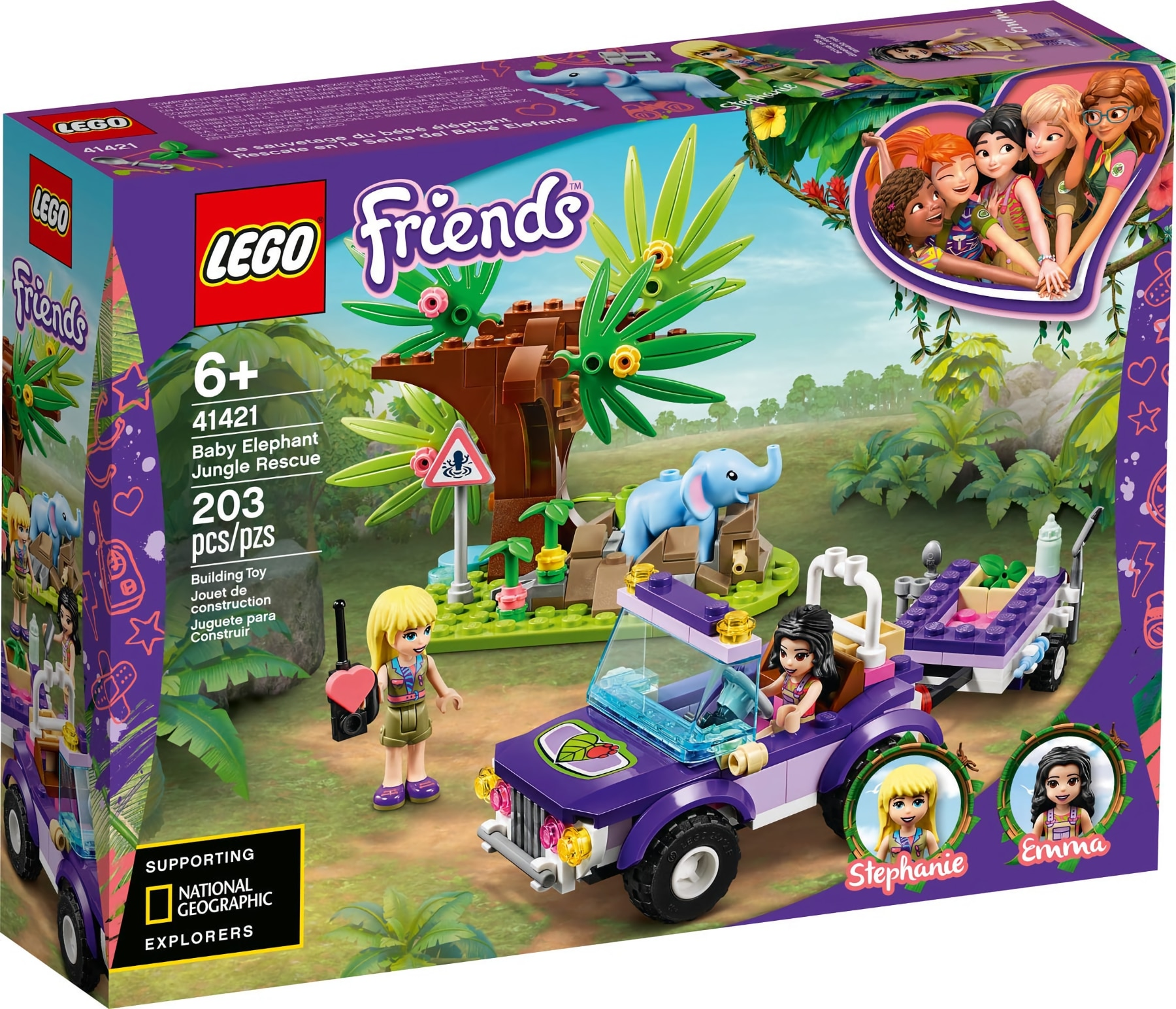 LEGO Friends 41421 Rettung Des Elefantenbabys