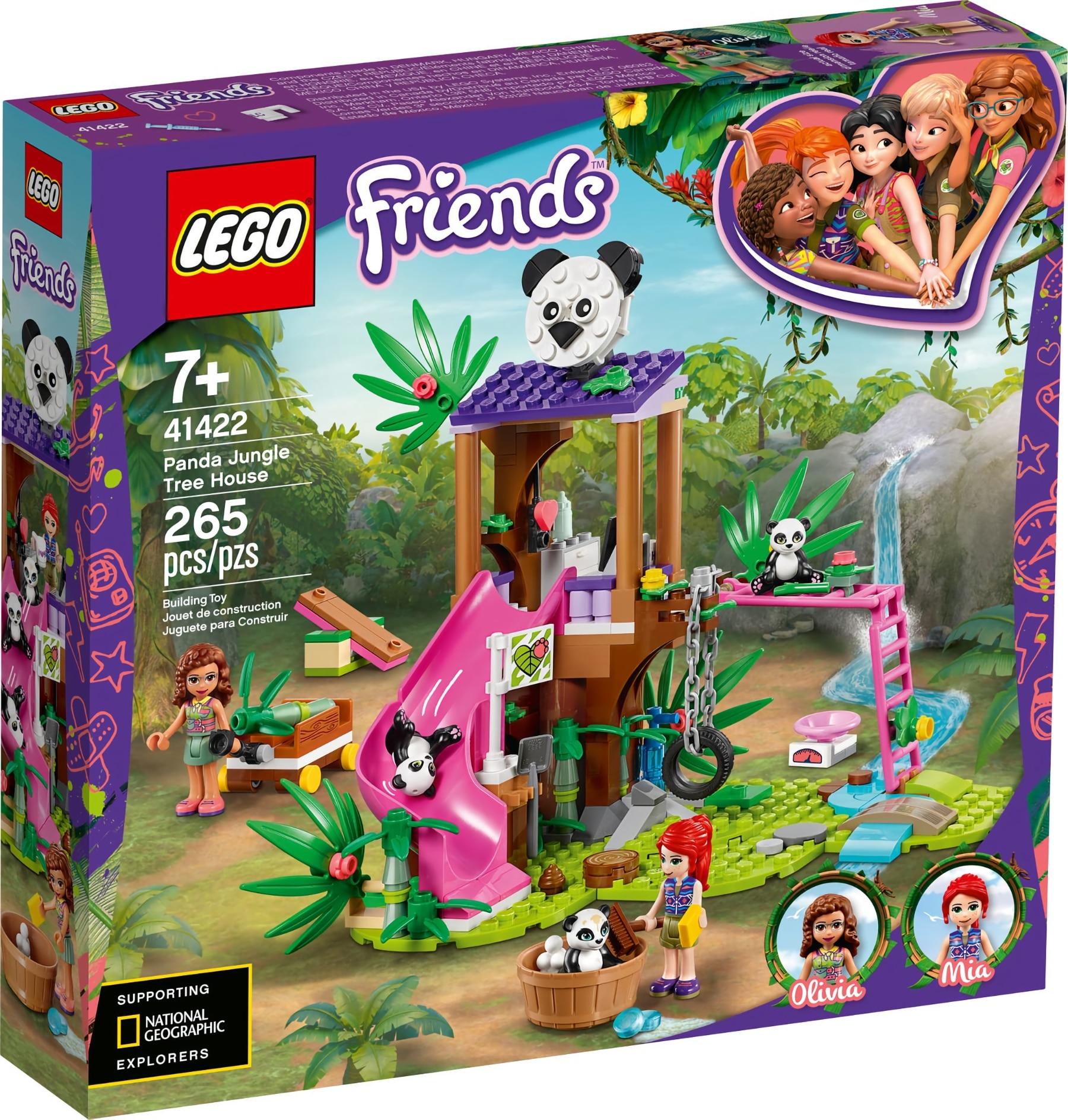 LEGO Friends 41422 Panda Rettungsstation