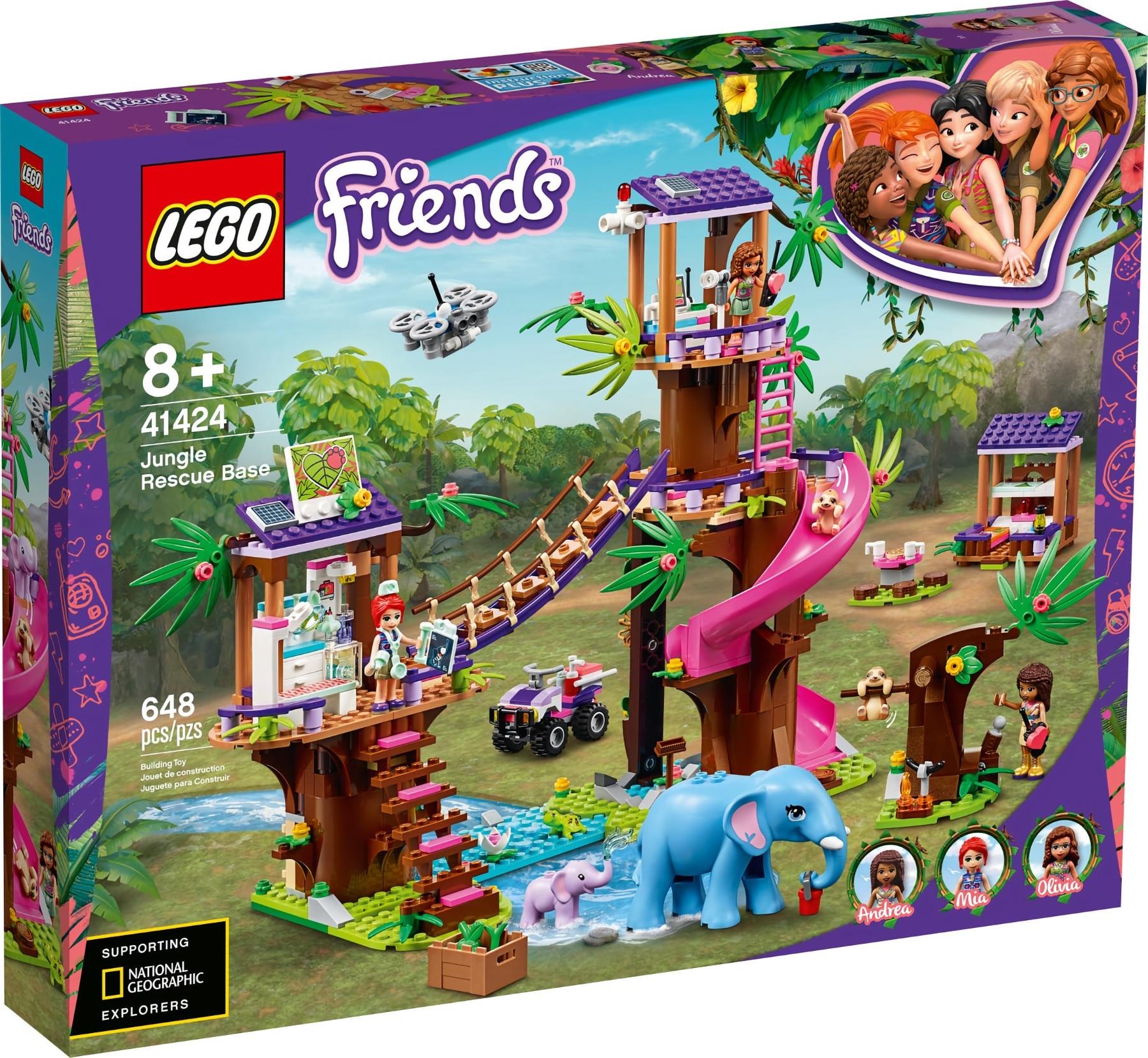 LEGO Friends 41424 Tierrettungssation Im Dschungel