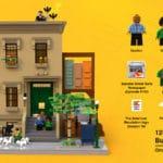 LEGO Ideas 21323 Sesamstrasse Entwurf 10