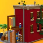 LEGO Ideas 21323 Sesamstrasse Entwurf 9