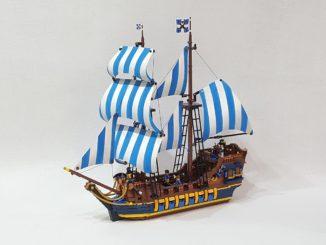 LEGO Ideas Caribbean Clipper (1)