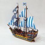 LEGO Ideas Caribbean Clipper (7)