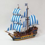 LEGO Ideas Caribbean Clipper (9)