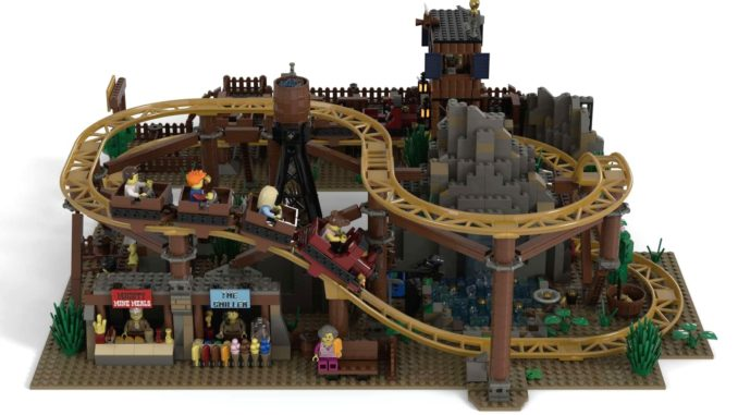 LEGO Ideas Gold Rush Mine (3)