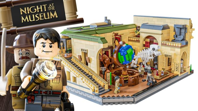 LEGO Ideas Night At The Museum (1)
