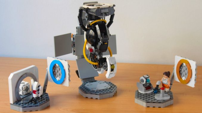 LEGO Ideas Portal 2 Glados Vs Chell And Wheatley (8)