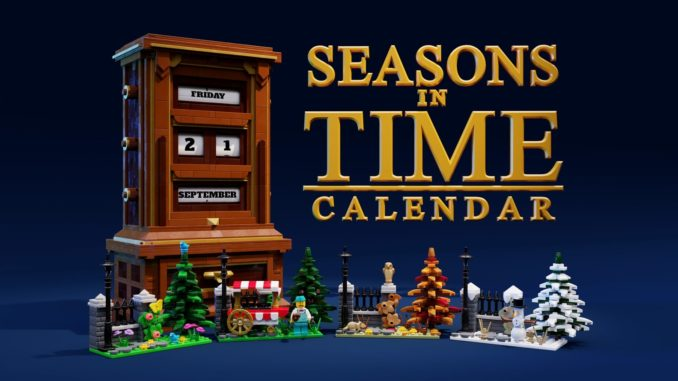 LEGO Ideas Seasons In Time Calendar (1)
