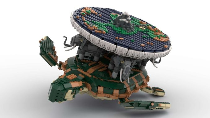 LEGO Ideas Terry Pratchetts Discworld (1)