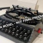 LEGO Ideas Typewriter Fanmodel
