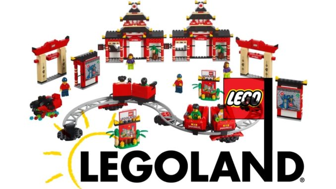 LEGO LEGOland 40429 Ninjago Land Banner