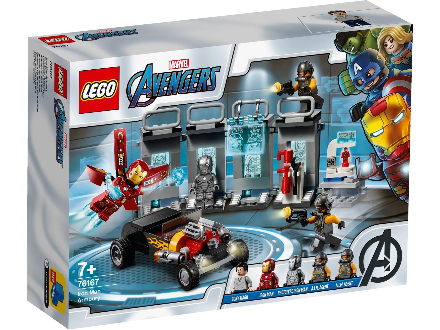 LEGO Marvel 76167 Iron Mans Arsenal 01
