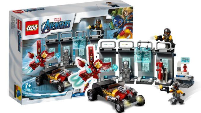 LEGO Marvel 76167 Iron Mans Arsenal