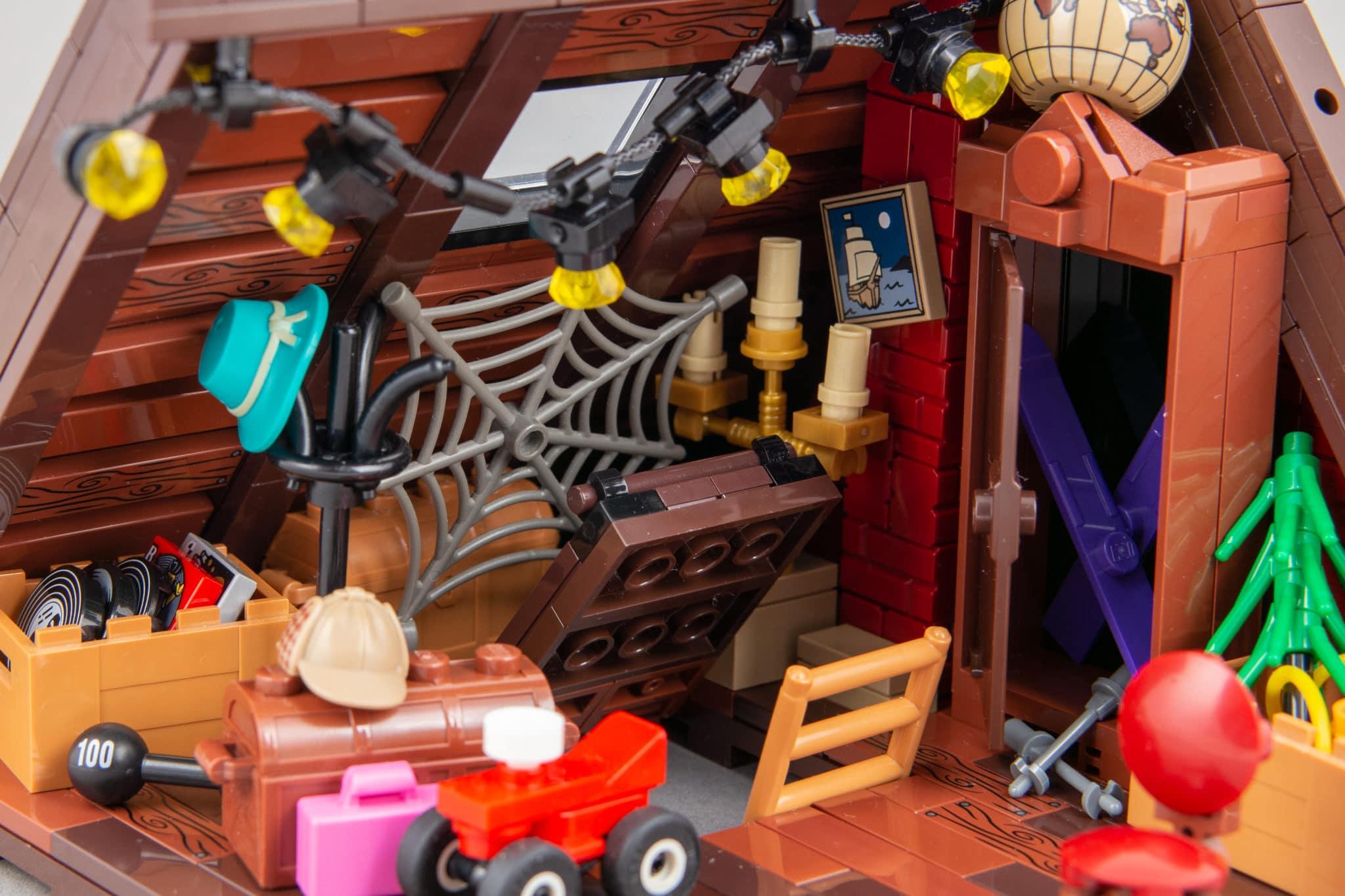 LEGO Moc Dachboden (10)