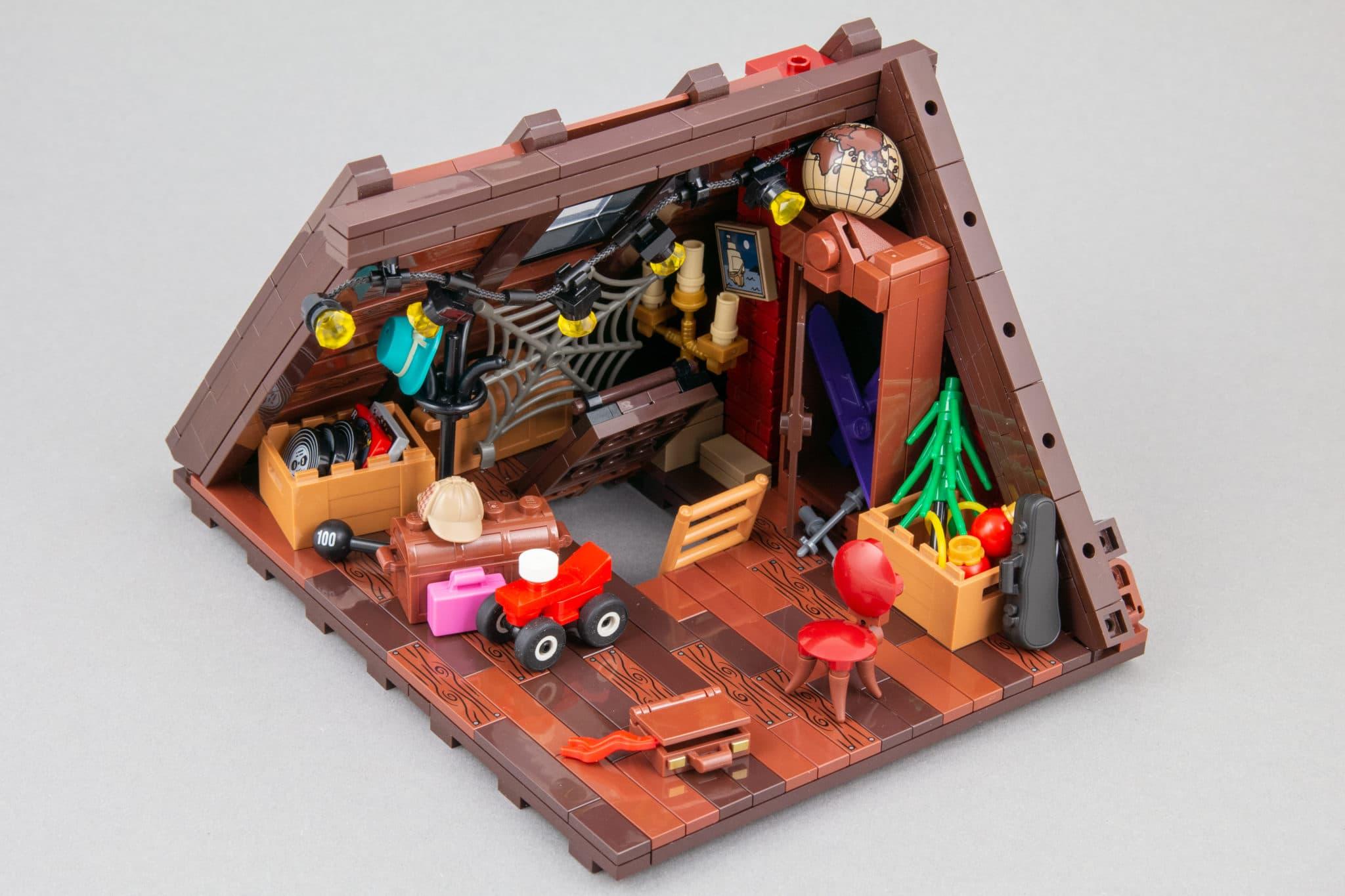 LEGO Moc Dachboden (11)