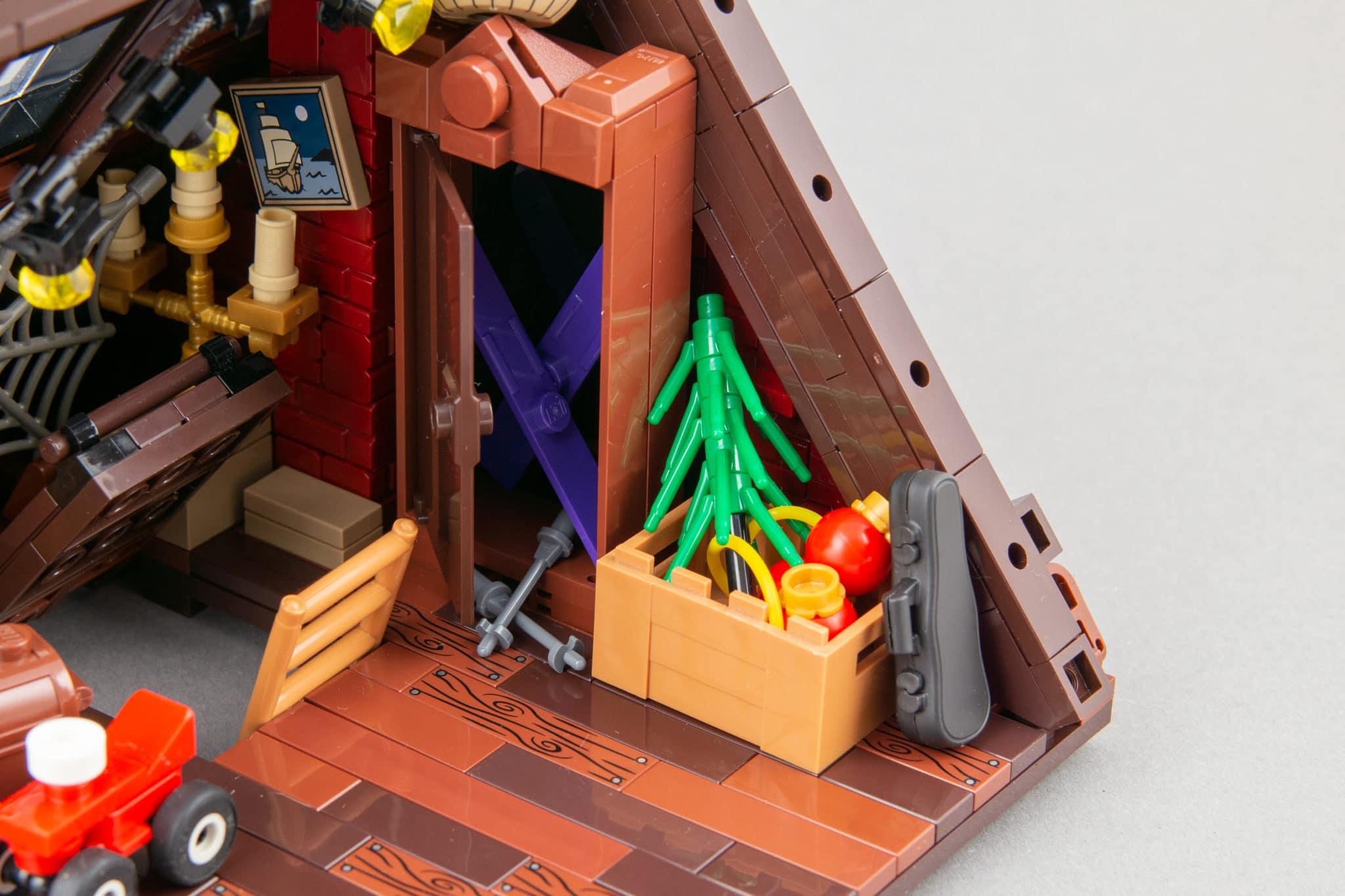 LEGO Moc Dachboden (12)
