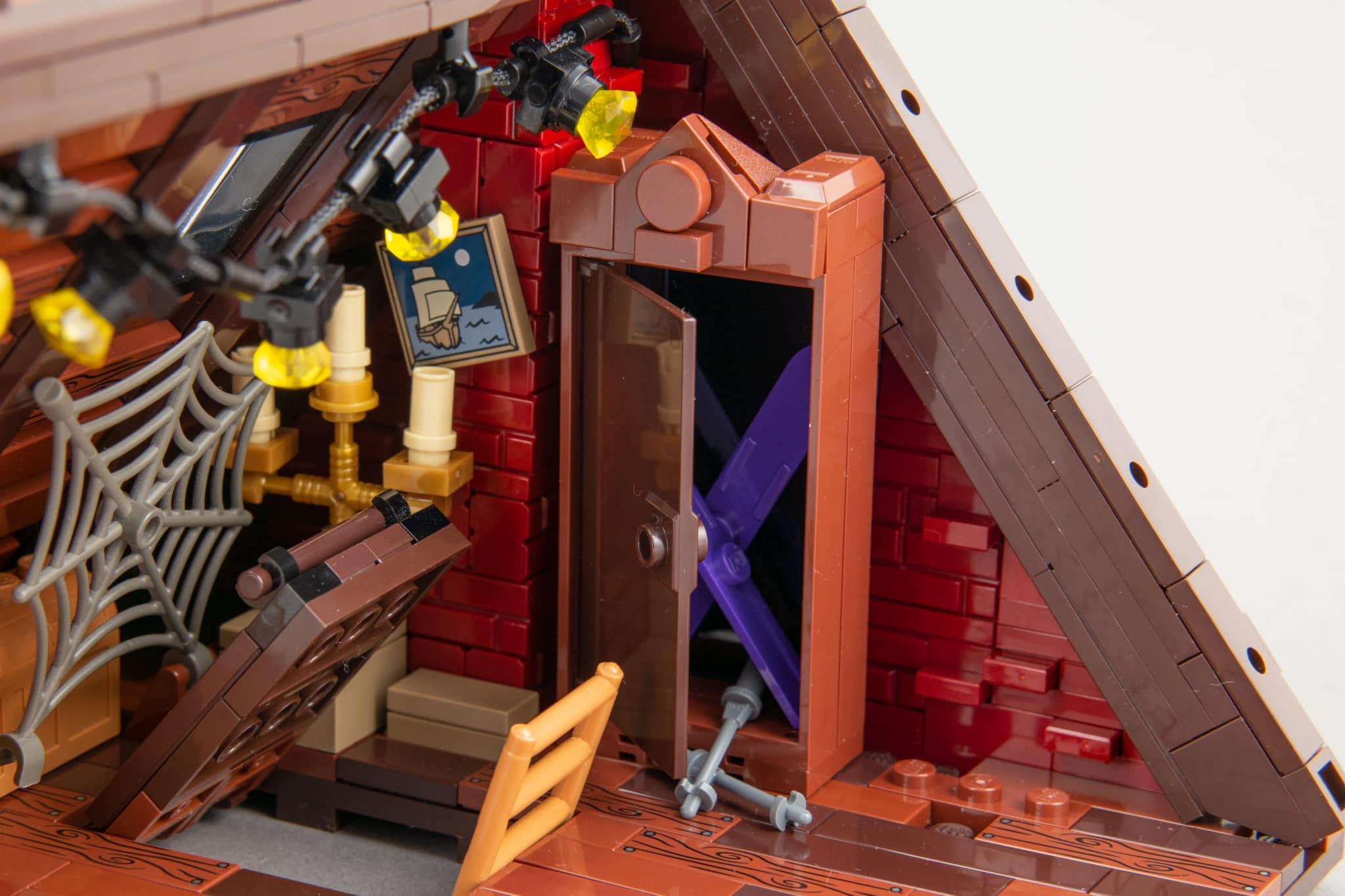 LEGO Moc Dachboden (17)