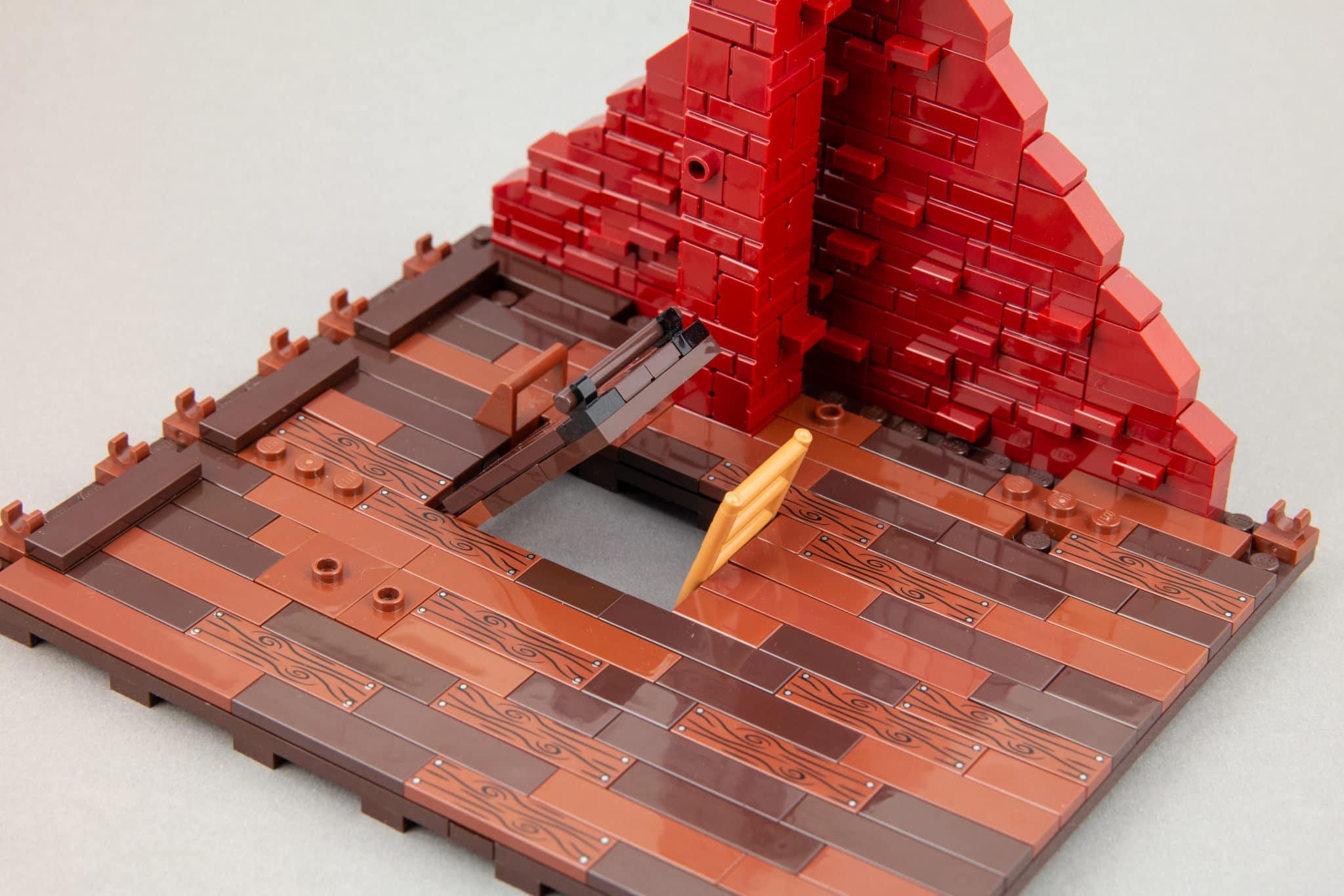 LEGO Moc Dachboden (28)