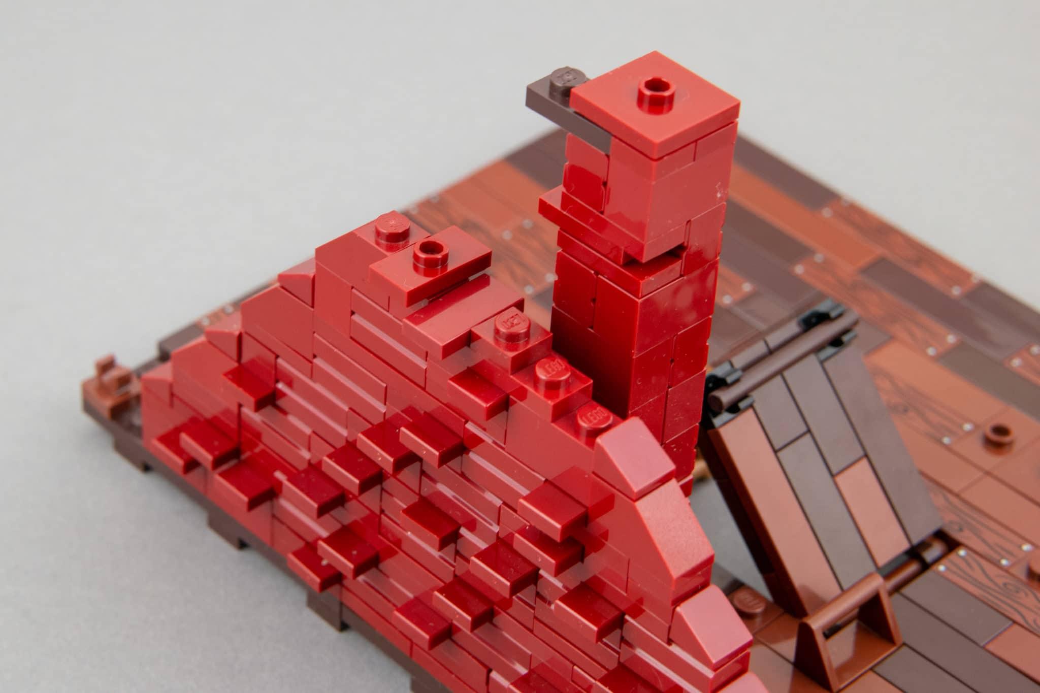 LEGO Moc Dachboden (29)